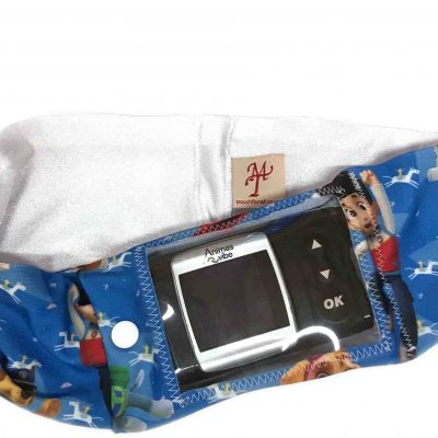 Window Super Slim Insulin Pump Waist Pouches